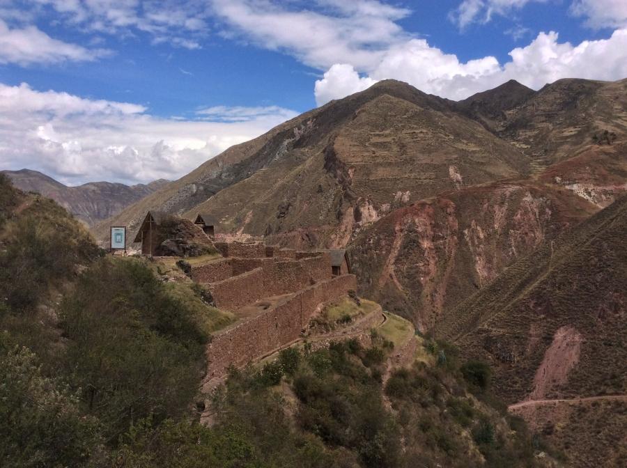Qorimarka Inca site along the Ancascocha trekking Peru