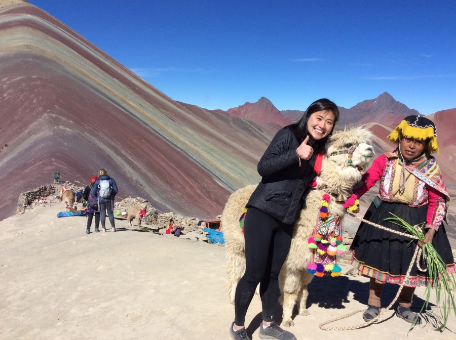 day trip rainbow mountain Vinicunca Peru