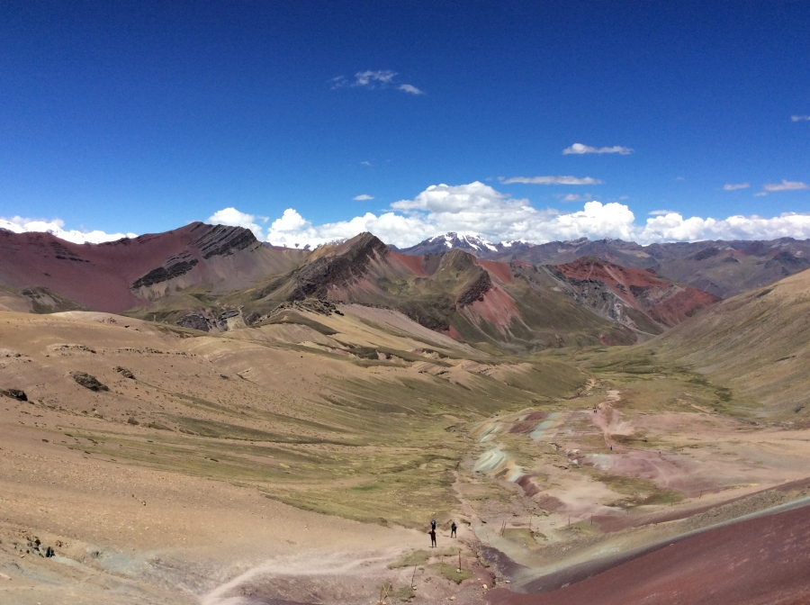 trail Vinicunca trekking Peru for 2 days
