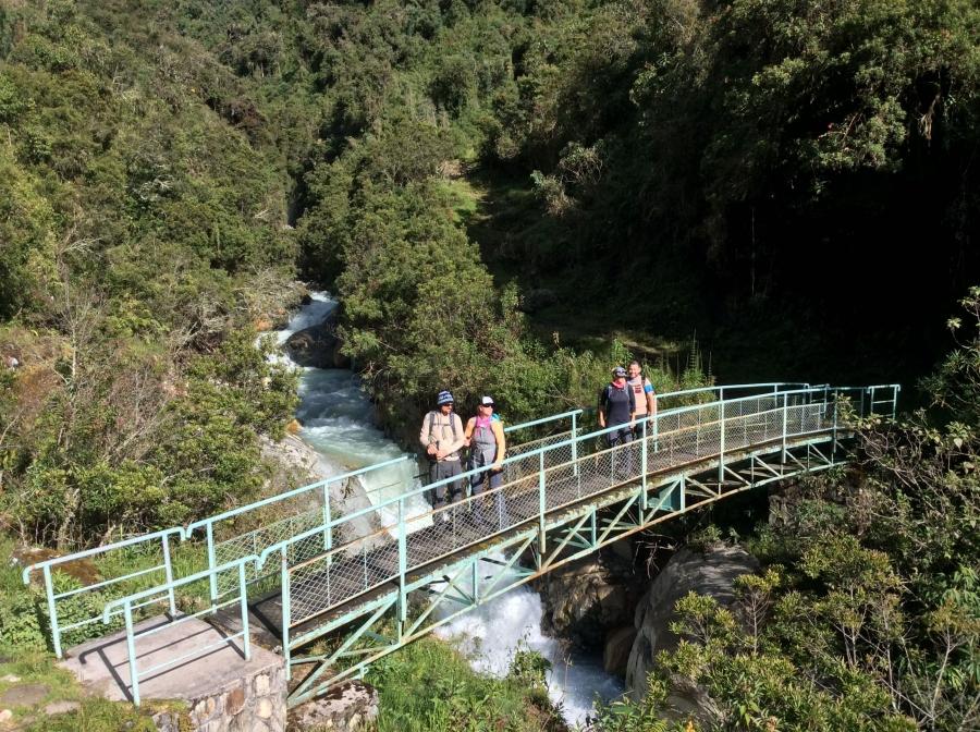 hiking Vilcabamba trek in 5 days and 4 nights to Machupicchu