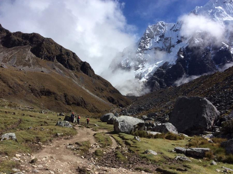 Salkantay trekking 3 days with Machupicchu
