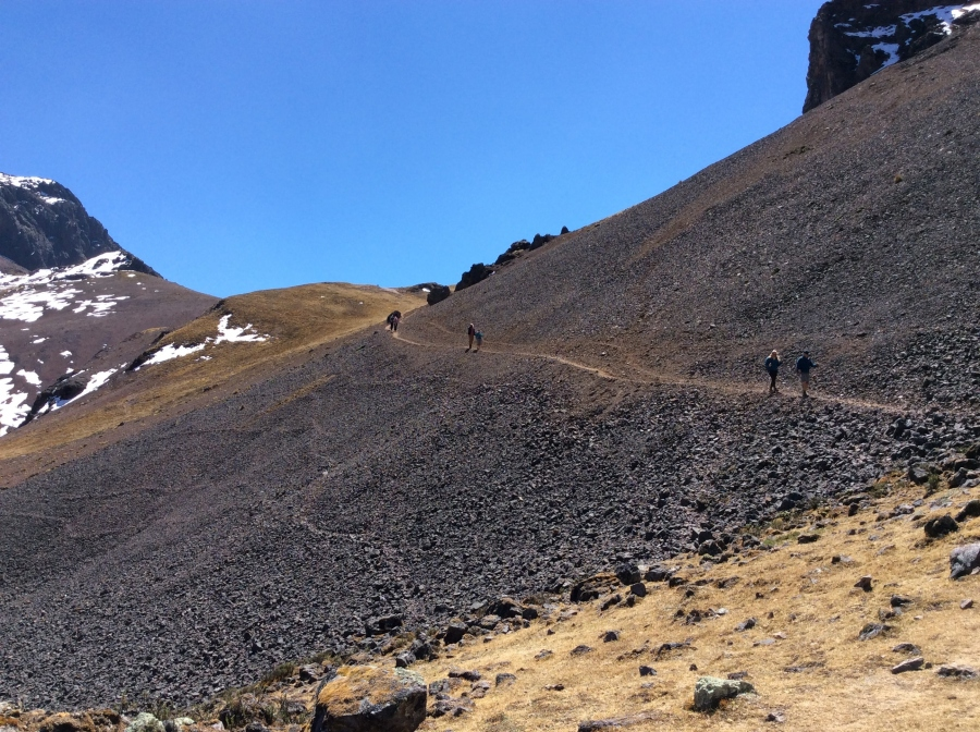 Lares trail trekking for 3 days in Peru