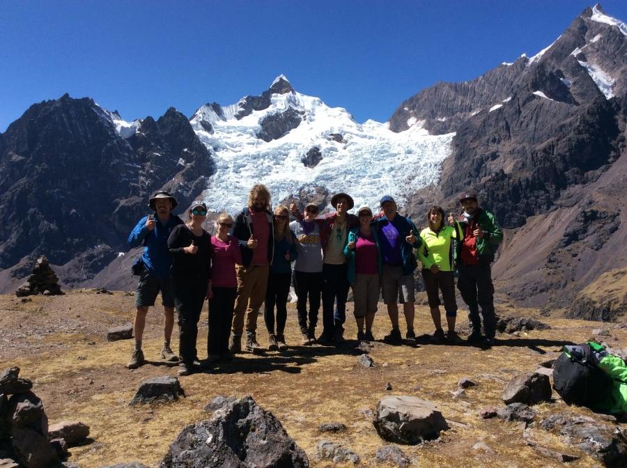 trekking Lares mountains for 3 days in Peru