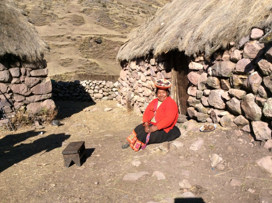 Lares trek adventure in Peru homestay