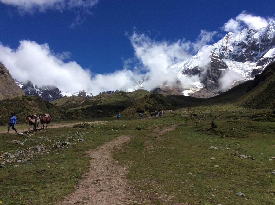 Salkantay trekking 3 days in Peru