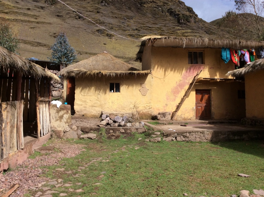 hiking Lares in Peru with homestay