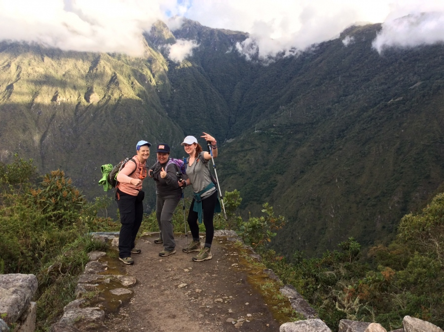 hiking short Inca to Machupicchu 2 days