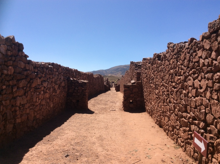 one day tour Pikillacta Cusco Peru