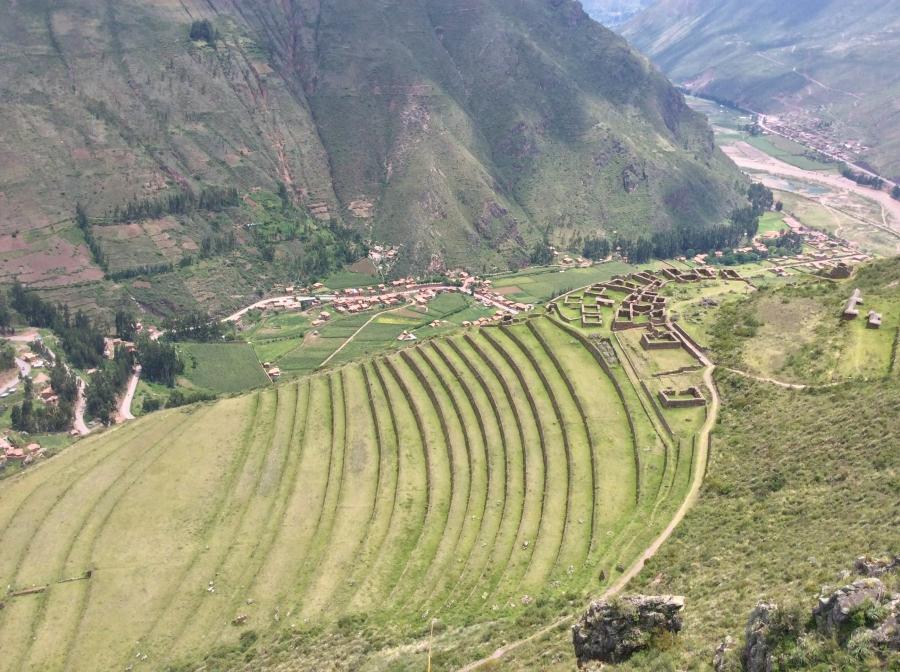 Pisac Inca site tour Cusco