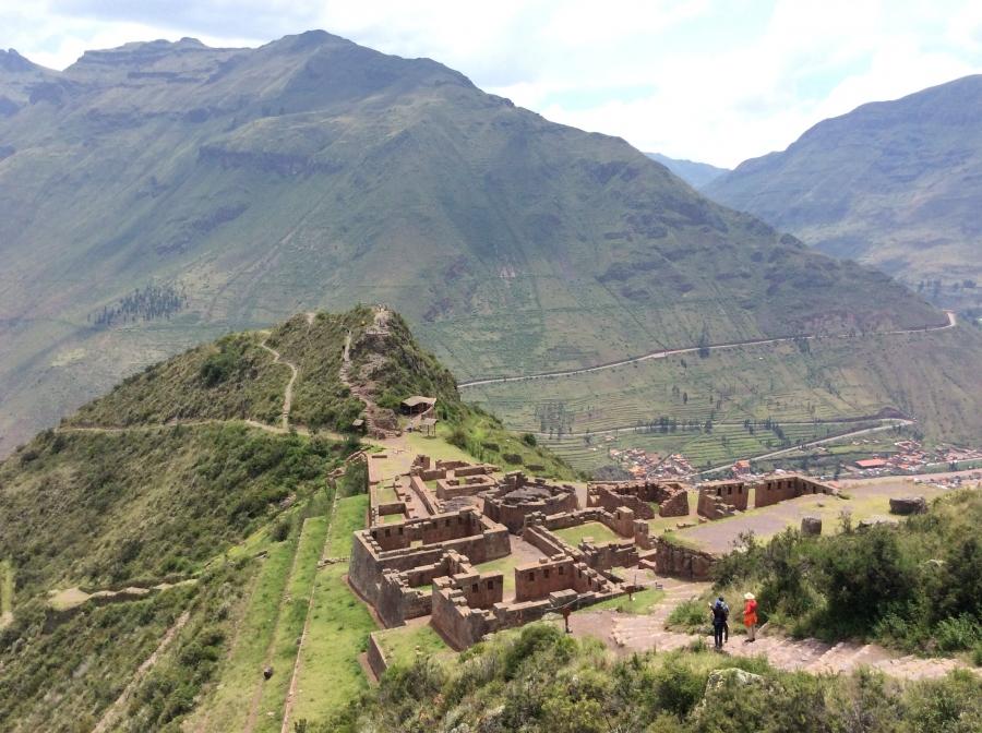Pisac Inca site with Cusco city tour