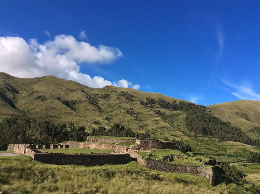 Inca site Pucapucara tour with Cusco