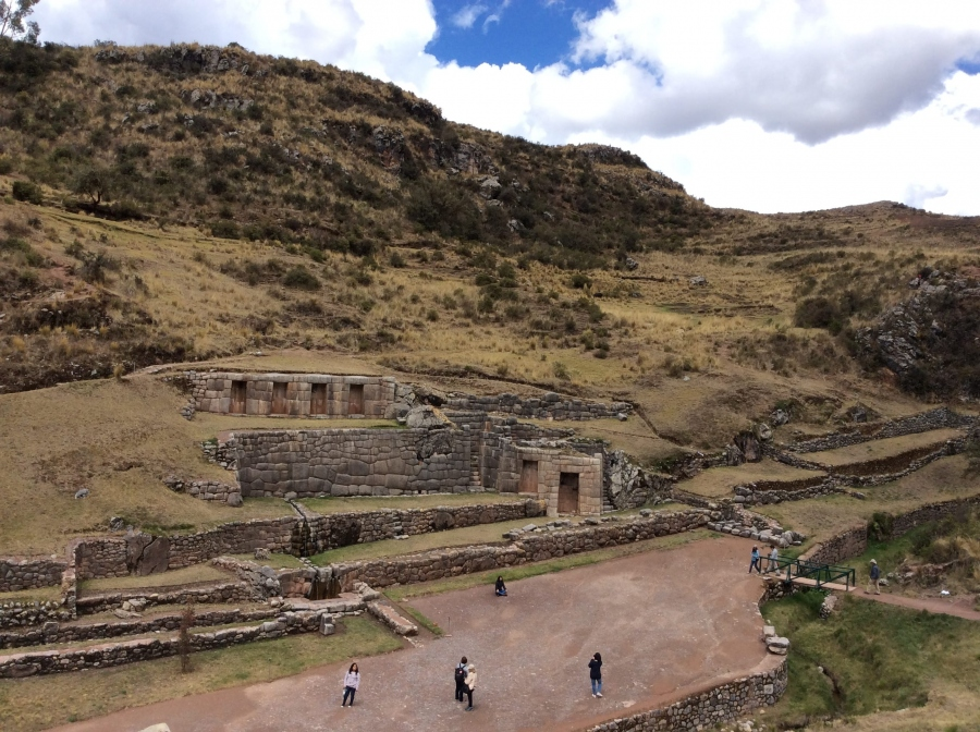 Tambomachay Inca site tour with Cusco