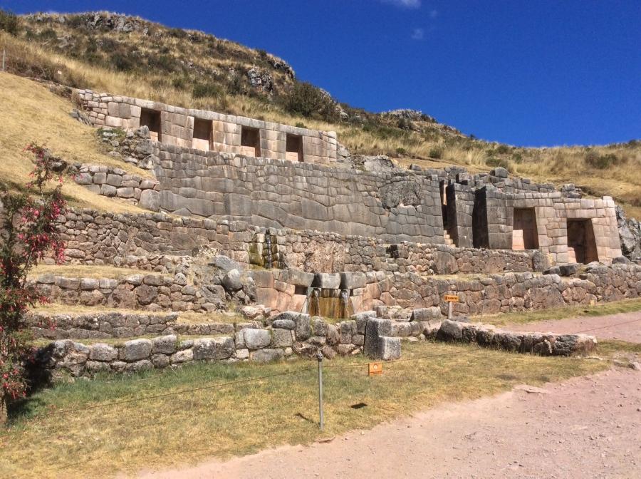 Tambomachay Inca site tour with Cusco city