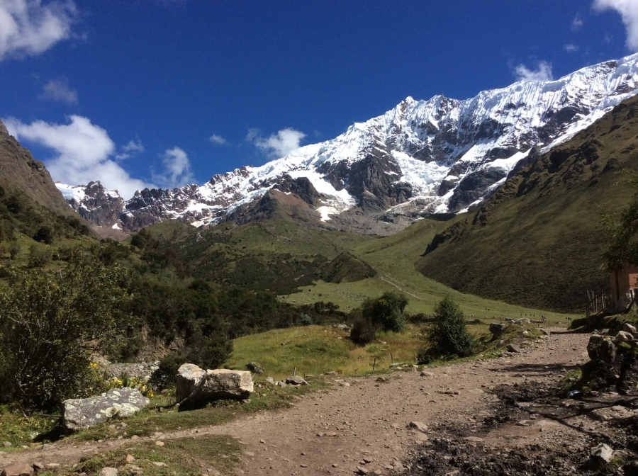 Salkantay trekking in 5 days to Machupicchu
