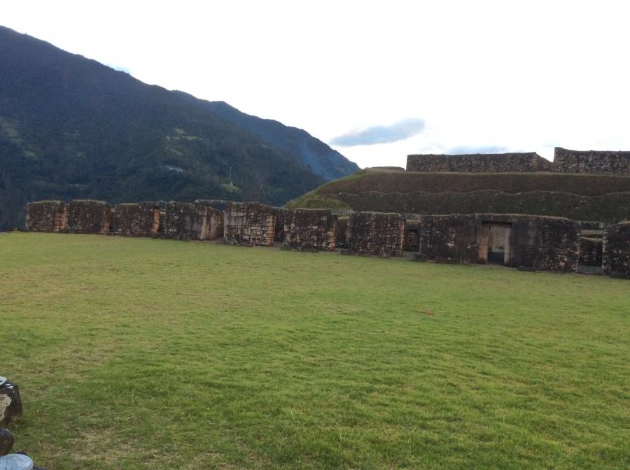 Vilcabamba Inca site trekking adventure Peru