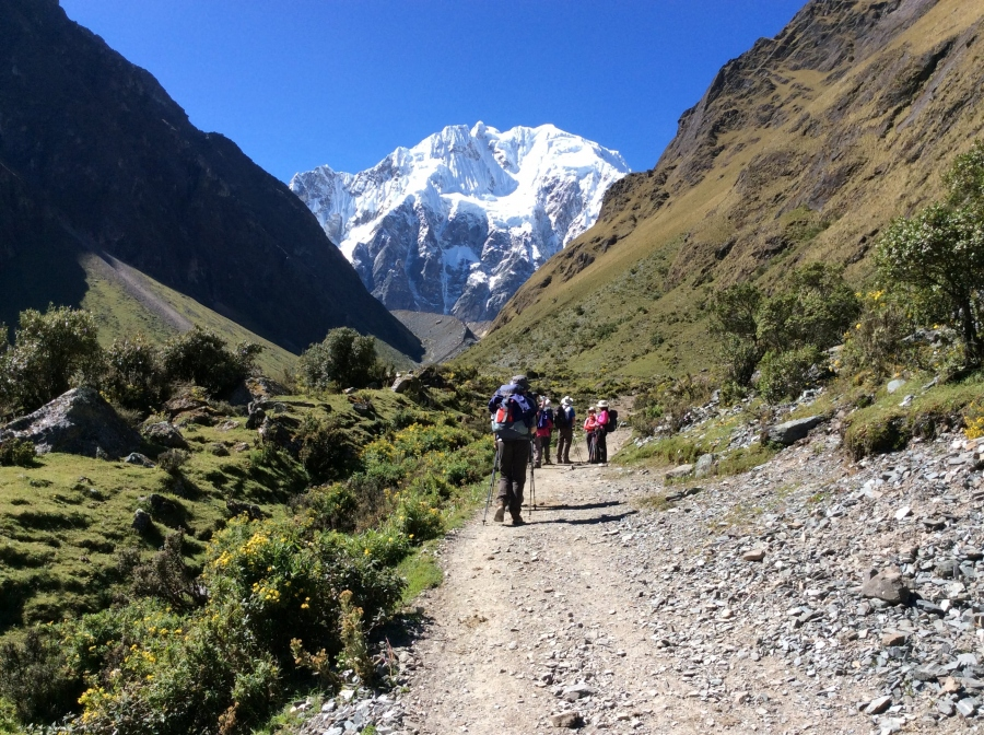 5 days and 4 nights trekking Salkantay to Machupicchu