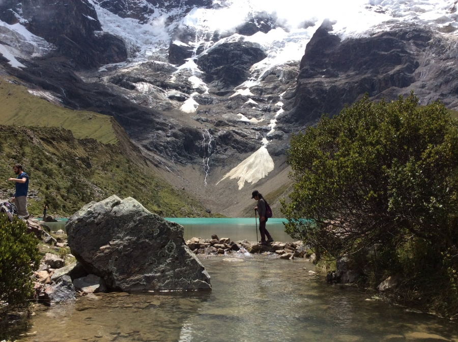 Humantay lake hiking with Salkantay trek to Machupicchu
