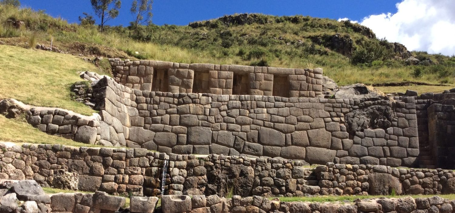 Tambomachay Inca site with Peru package trip