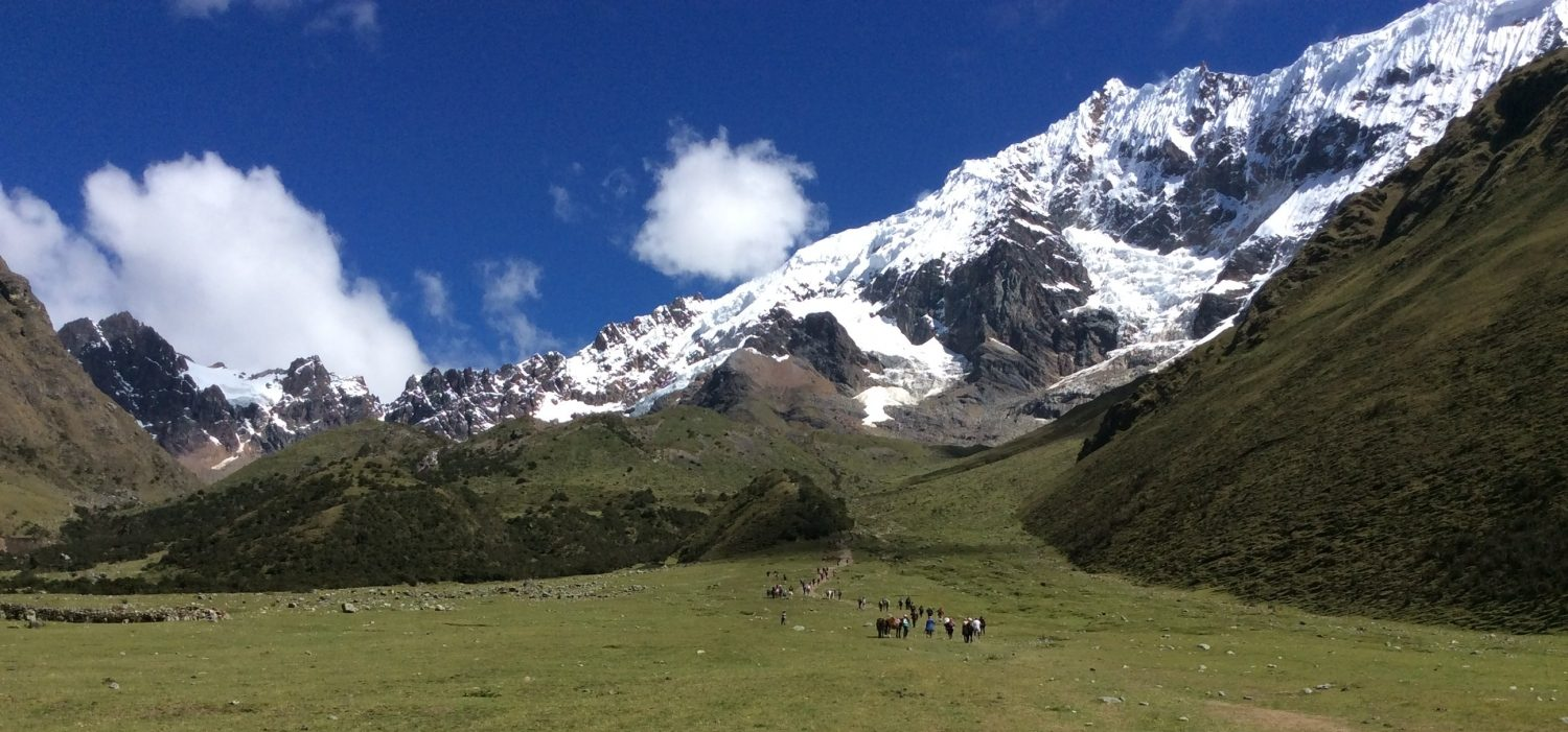 Salkantay trekking with Machupicchu with the best team Peru