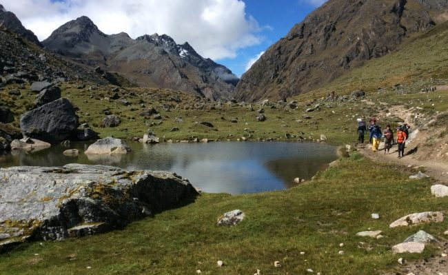 trekking Salkantay trail with Machupicchu in 5 days