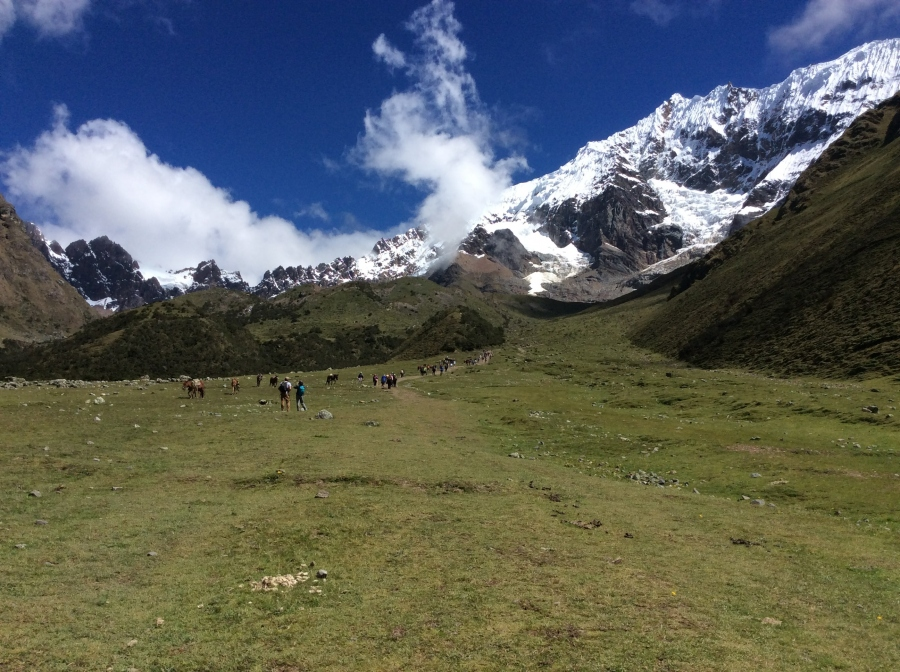 Humantay trail hiking to Machupicchu 5 days