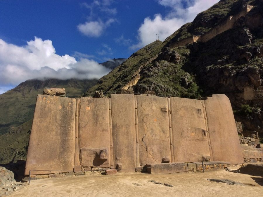Ollantaytambo Inca site tour in Peru package tour