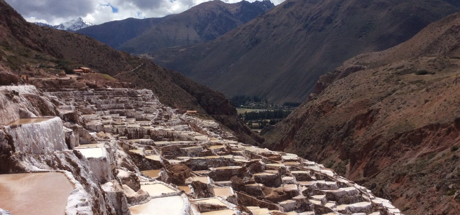 tour to Maras salt mine with Peru package tours