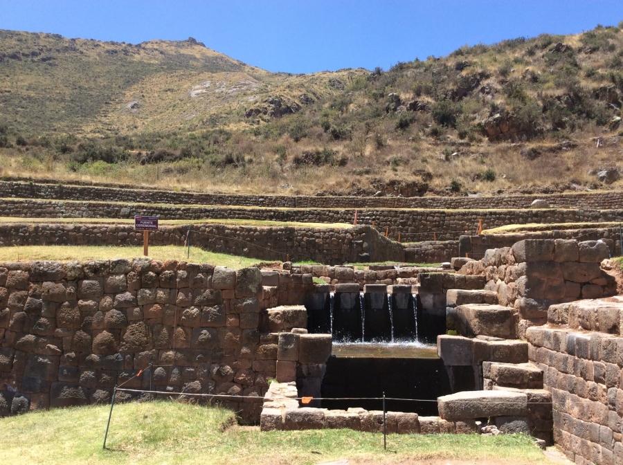 day tour Tipon Inca site Peru