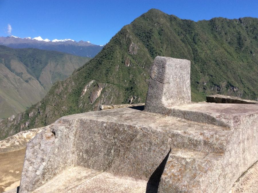 Intiwatana Inca site tour in Machupicchu