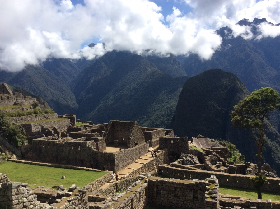 Machupicchu tour after Inca trail hike 4 days