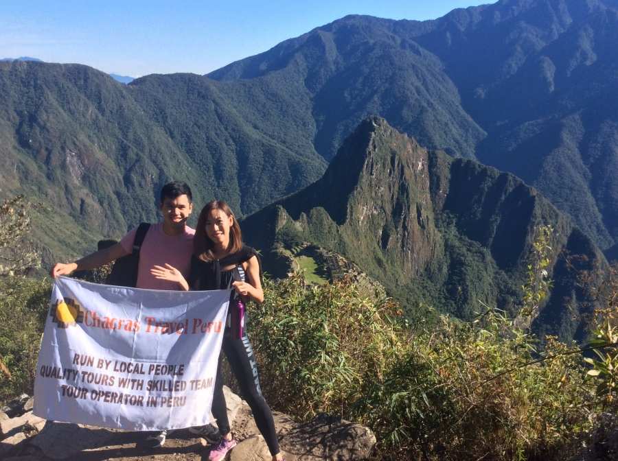 Machupicchu mountain hike view