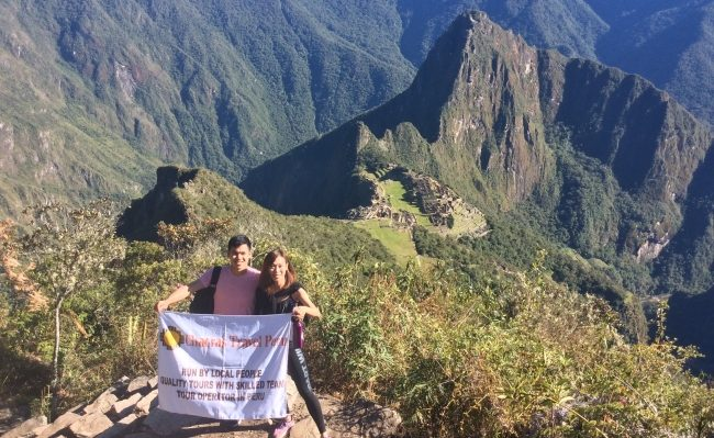 Machupicchu mountain view trek