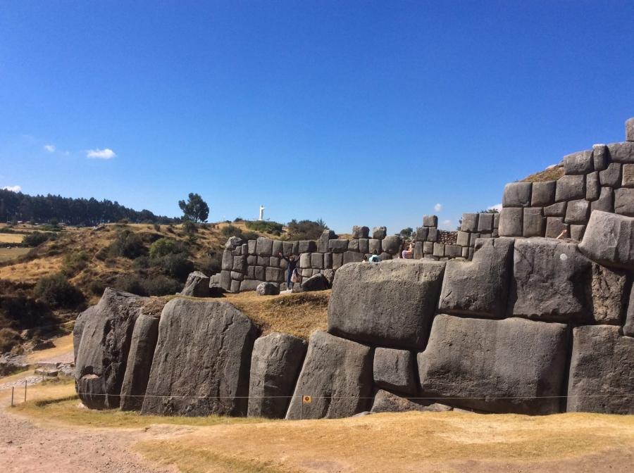 Sacsayhuaman Inca site with Peru tour