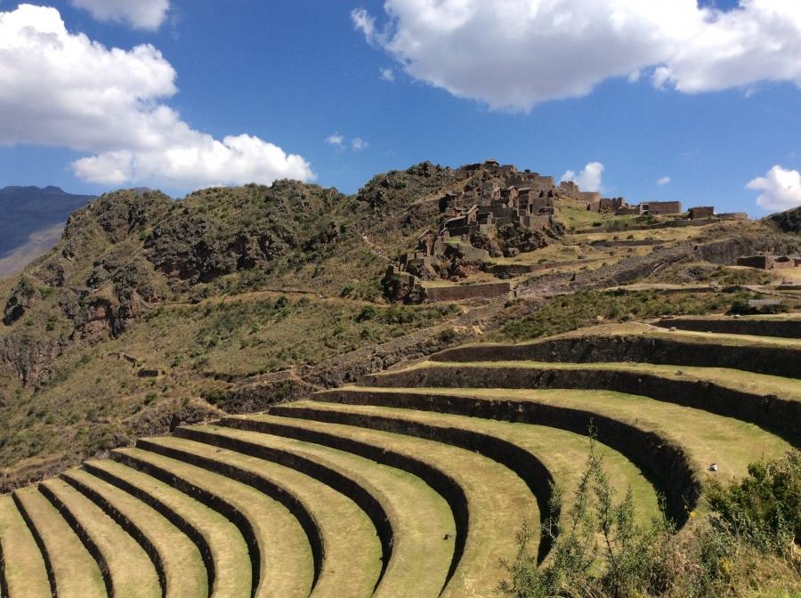Pisac Inca site in 4 days package tour Peru