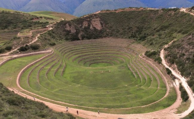 Moray Inca site with sacred valley tour in Peru