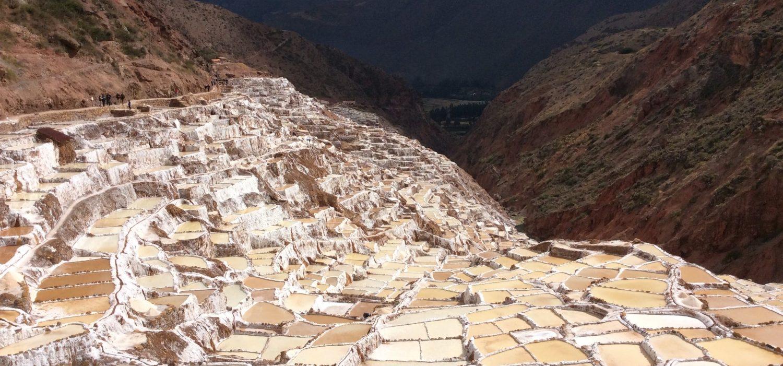 Salt mine Maras tour in Peru