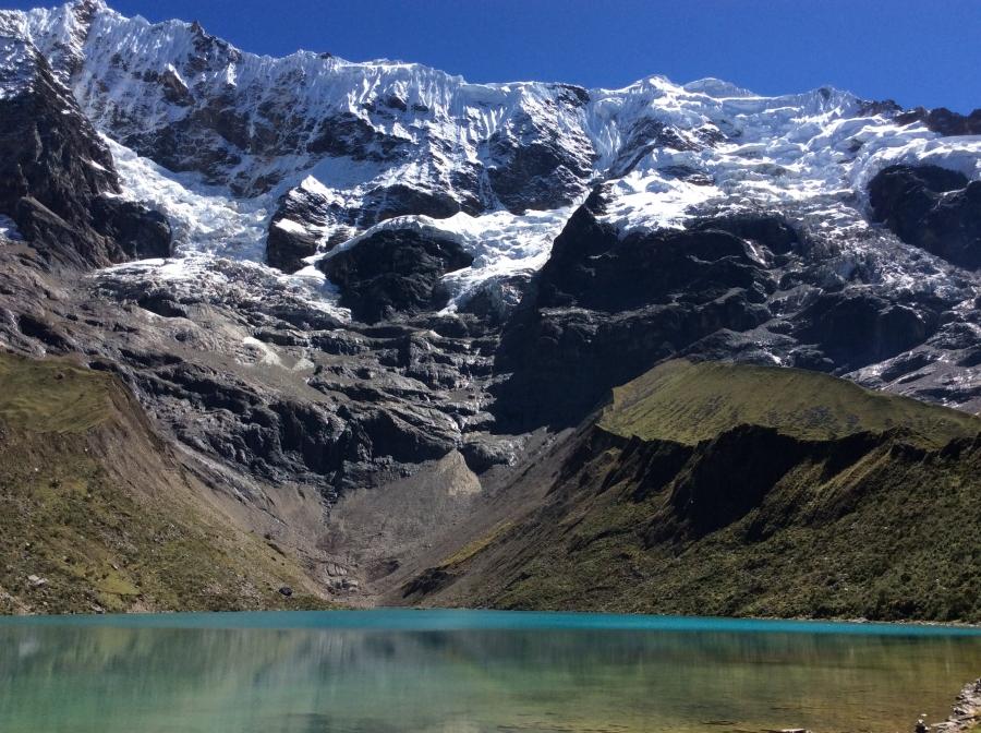 Humantay lake along Salkantay trek