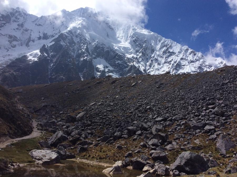 hiking Salkantay in 2 days Peru