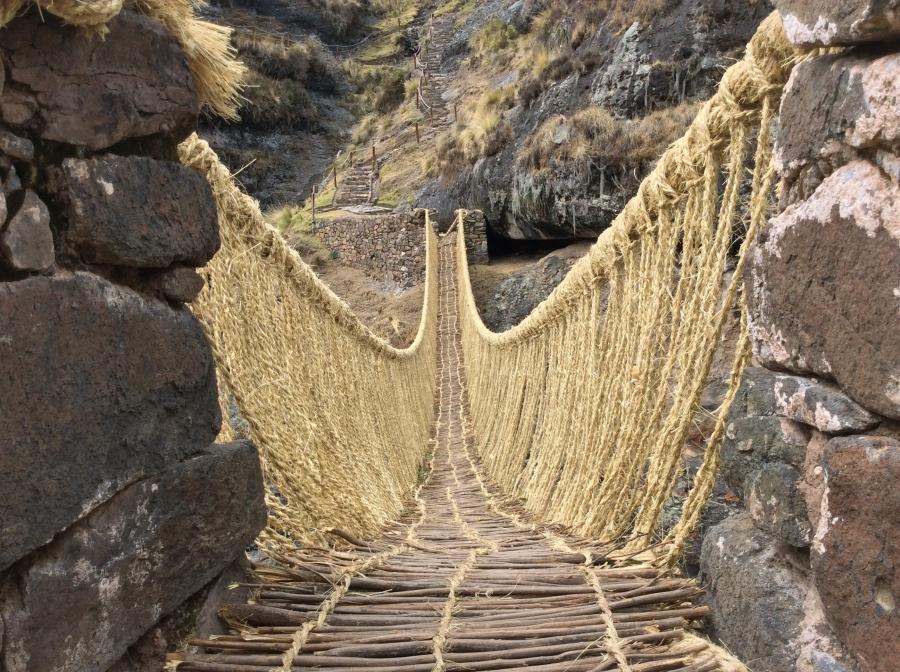 Peru Cusco Qeswachaka day tour