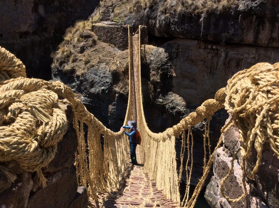 Peru Qeswachaka bridge tour