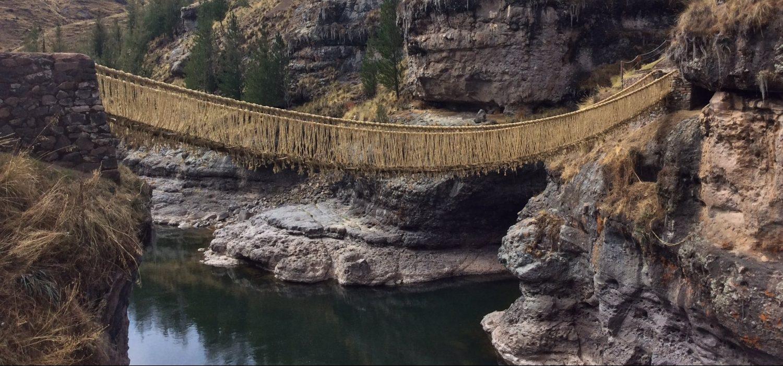 Cusco Qeswachaka rope bridge tour