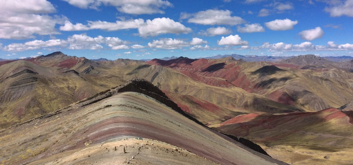 One day tour to Palccoyo rainbow mountain Peru