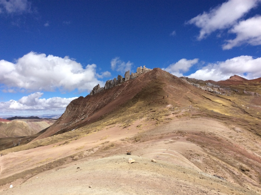 Palccoyo rainbow mountay full day hike Cusco