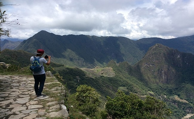 Inca Trail hike short to MachuPicchu