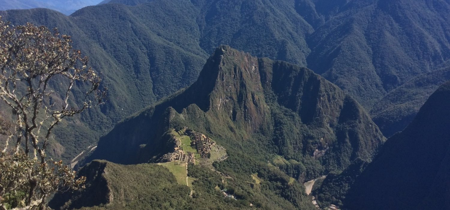 Inca trail one day trek to MachuPicchu