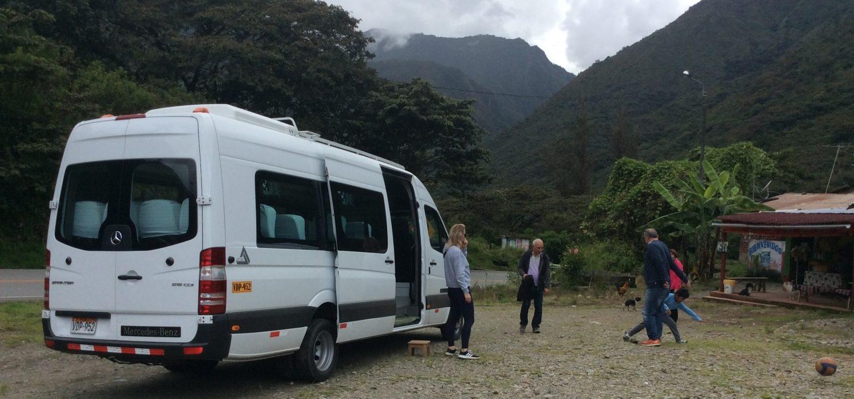 private Van tourist transport Cusco Peru
