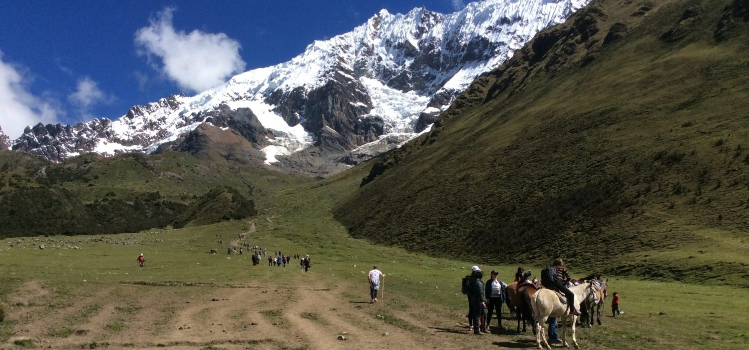 Salkantay hike with horseback riding to Machupicchu