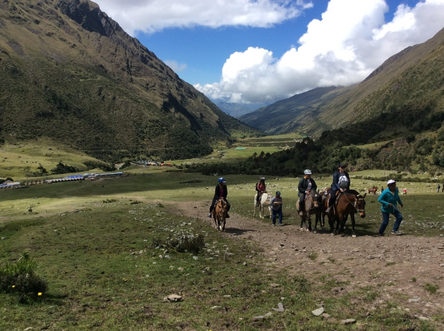 Horseback riding Salkantay Machupicchu 3 days