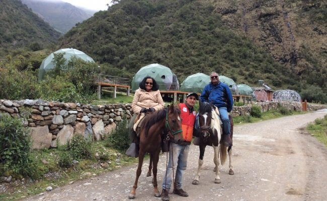 horseback riding to Salkantay trekking