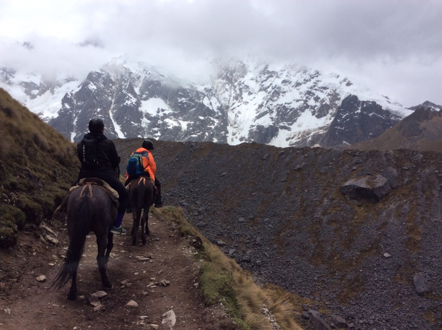 Horseback riding Salkantay to Machupicchu